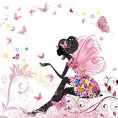 蝶と女の子